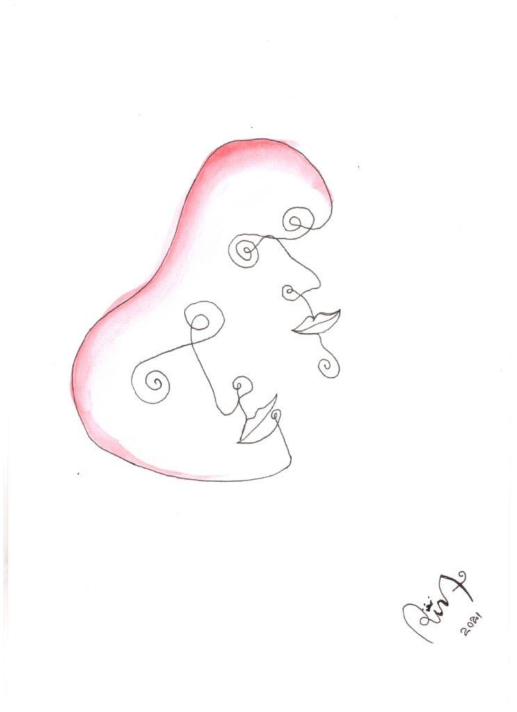 Couple - Tangled Bodies - Rina