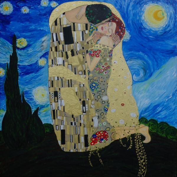 Vang Gogh & Klimt